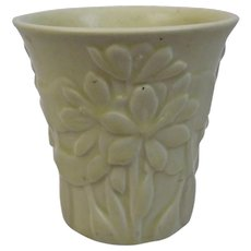 Rookwood Pottery Matte Cream White Production Vase 6354 Dated 1938