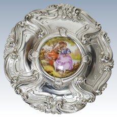 A portuguese sterling silver box