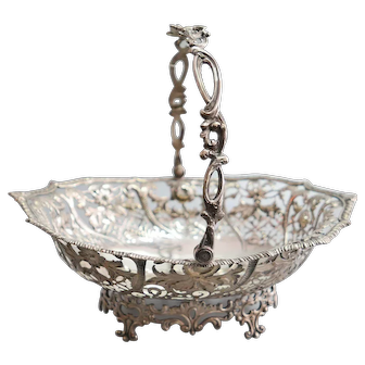 A English Silver basket