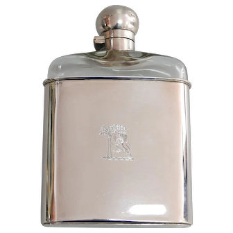 A English Silver Bottle (1901)