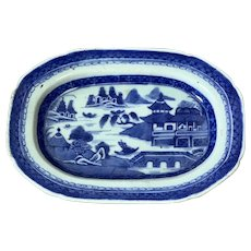 A jiaqing  dish chinese export porcelain