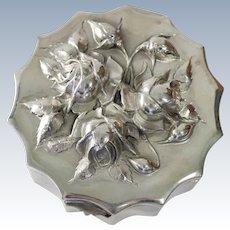 APortuguese sterling silver box