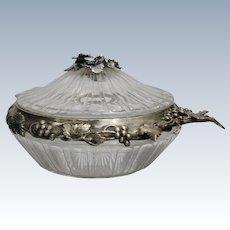 A Portuguese sterling silver bowl