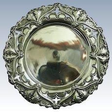 A portuguese silver salver