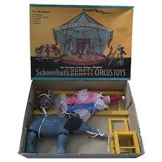 "Shackman version of ""Schoenhut's Humpty Dumpty Circus Toys"""