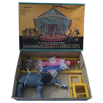 "Shackman version of ""Schoenhut's Humpty Dumpty Circus Toys"""