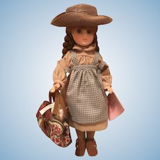 """Madame Alexander's Anne of Green Gables """"Arrives at the Station"""" Doll with Two Additional Outfits (NRFB)"""