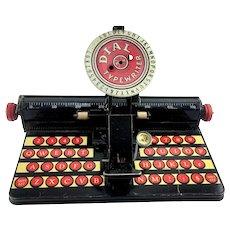 1940s Marx Tin Litho Dial Typewriter Toy