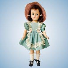 "Madame Alexander 14"" Margaret O'Brien 1940s Composition Doll"