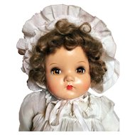 Early 1940s Madame Alexander Little Genius Baby Doll
