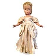"1950 Madame Alexander 17"" Cinderella"