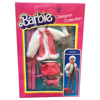 """Ski Party!"" Barbie Designer Collection Fashion Set"