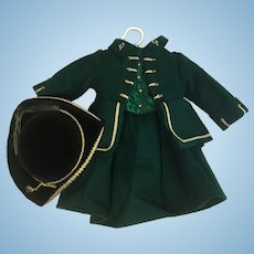 Felicity's Riding Habit and Tricorn Hat – American Girl Collection by Pleasant Company