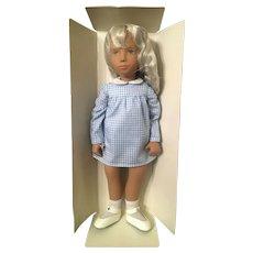 Vintage Sasha Blonde Gingham Doll – Model 107 NRFB
