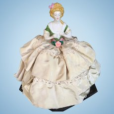 """Madame Du Barry"" Half-Doll Tea Cozy by Goebel"