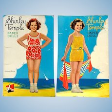 Shirley Temple Paper Doll Book - 1939 Uncut Authorized Edition