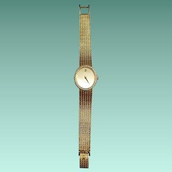 18k Yellow Gold Audemars Piguet Mechanical Watch