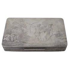 Buccellati Sterling Silver Box