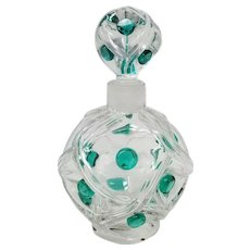 "Lalique, ""Floride"" Perfume Bottle, c.1956"
