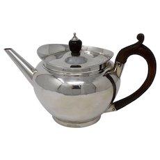 Sterling Silver, English, Georgian Tea Pot, Robert Garrard I, 1805