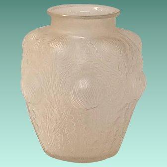 "Rene Lalique ""Domremy"" Vase, c.1925"
