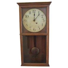 1917 Seth Thomas Clock, Office No. 6, Bell Telephone Wall Clock