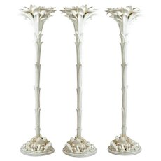 Sirmos Plaster Trompe L'oeil  Palm Floor Lamps