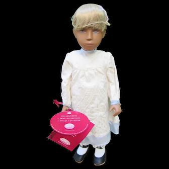 Gotz German Sasha Doll Ira LE Mint in Tube w/ COA & Tags