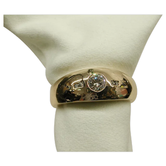 Classic Mans Ring from C. D. Peacock
