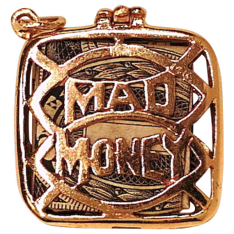 14 k Yellow Gold Mad Money Charm