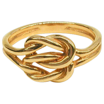 14kt. Love Knot Ring