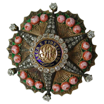 The Imperial Order of the Rose.   A Brazilian Order of Chivalry Instituted by Emperor Pedro I.