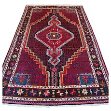 Free shipping - 7.1 x 4.5 Special design tribal Oriental rug