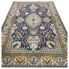5.4 x 3.4 Luxury bohemian Oriental rug with silk √ Free shipping