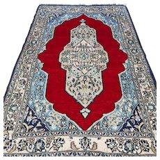 4.1 x 2.6 Small bohemian Oriental rug √ Free shipping