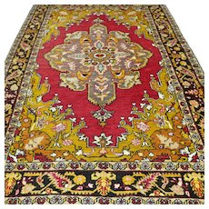 6.2 x 4.4 Antique Anatolian Bergama rug √ Free shipping