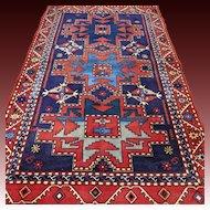 6.5 x 3.9 Lesghi Star Kazak rug √ Free shipping