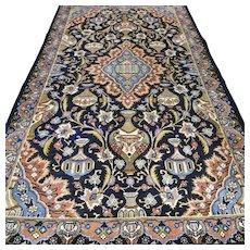 6.7 x 3.9 Bohemian vase design Oriental rug √ Free shipping