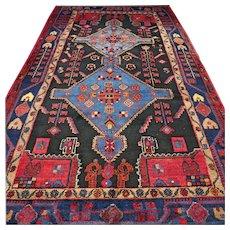 8.7 x 4.9 Tribal bohemian Oriental rug √ Free shipping