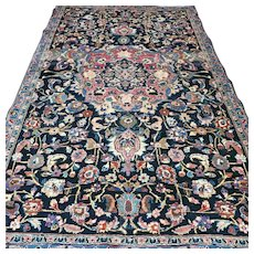 7.4 x 4.5 Superb antique vintage Oriental rug √ Free shipping