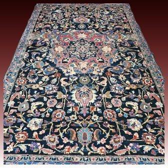 7.4 x 4.5 Superb antique vintage Oriental rug √ Free shipping