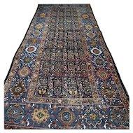 10.1 x 4.3 Vintage antique Kazak rug √ Free shipping