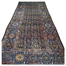 10.1 x 4.3 Vintage antique Tribal Kazak rug √ Free shipping