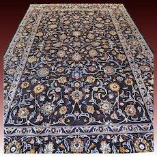 9.7 x 6.3 Luxury large dark bohemian rug √ Free shipping