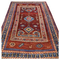 5.6 x 3.6 Tribal Anatolian rug √ Free shipping