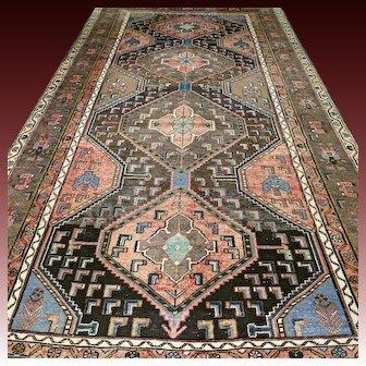 9.2x4.8, Antique tribal Kazak rug √ Free shipping
