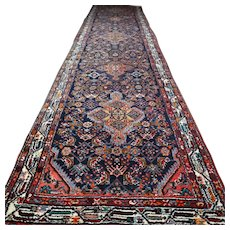 15.4x3.3 Superb extra long Tribal rug √ Free shipping
