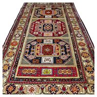 8.7 x 4.8 Colorful Anatolian Kazak rug √ Free shipping