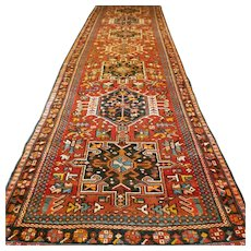 11.8x3.3 Wonderful tribal runner √ Free shipping