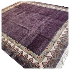 9.8 x 8.2 Modern contemporary rug √ Free shipping